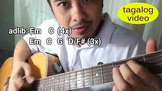 Zombie chords and tab guitar tutorial for Filipino viewers fans of ...