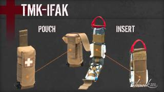 military law individual first aid kit ifak instructional video by chinook medical gear