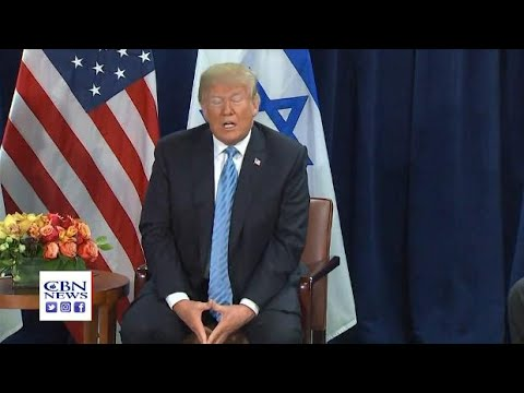 Trump Stands with Netanyahu '100 Percent', but Endorses 2-State Solution for Israel-Palestinians