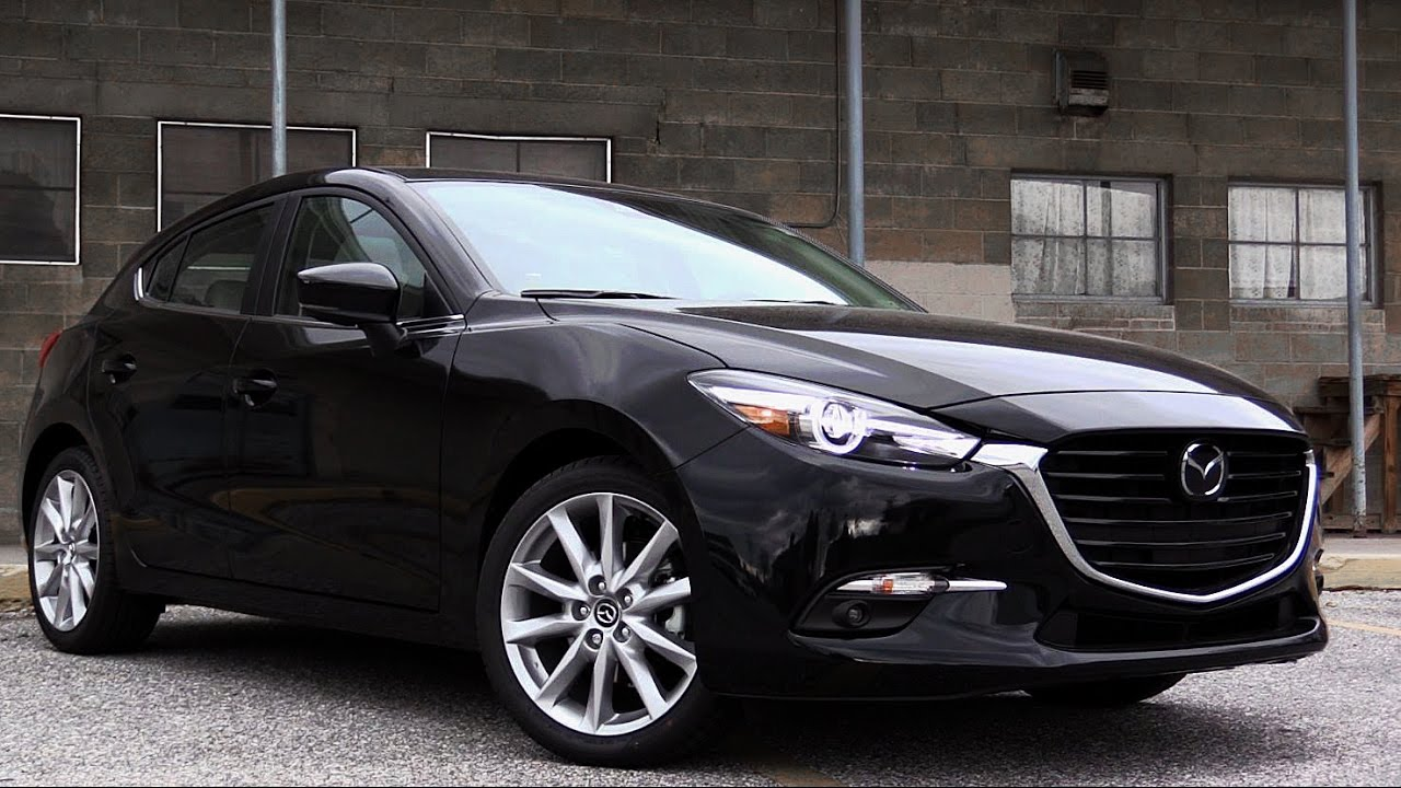 2017 mazda mazda3 review youtube for Honda civic 20017