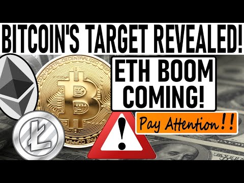 BITCOIN'S NEXT TARGET REVEALED! ETH NEXT TO EXPLODE! INSTITUTIONS RUSH TO BUY BTC! LTC READY TO RUN!
