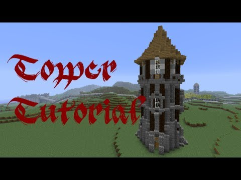 How To Build A Tower In Minecraft