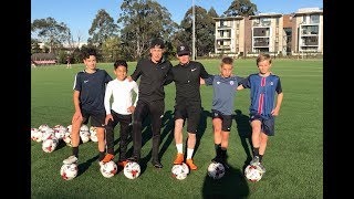 FULL YOUNG Group Training Session | 4 BALLERS 2 COACHES | Joner 1on1