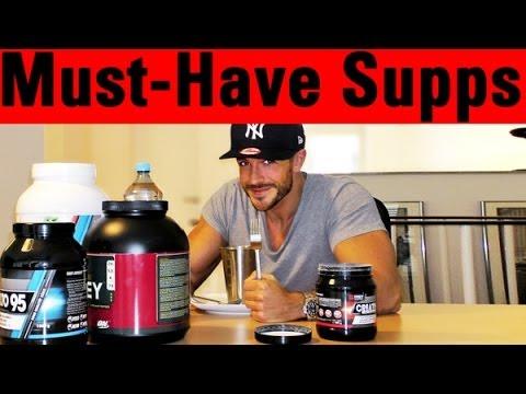 Simons Supplements für den Muskelaufbau