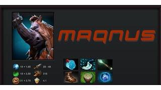 AoS - MAGNUS 「Dota2 2015 12 09 」 | Defender of Matriarch + Shock of the Anvil Mix item set