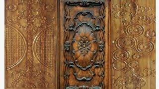 Latest Modern Decorative wood main Door designs