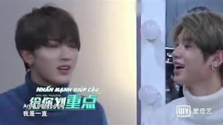 [Vietsub] Jutin ghẹo người, cãi nhau với Chính Đình | chụp hình teaser YueHua