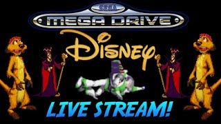 Sega MegaDrive Disney Movie Games Live Stream. 700 Subscriber Special!