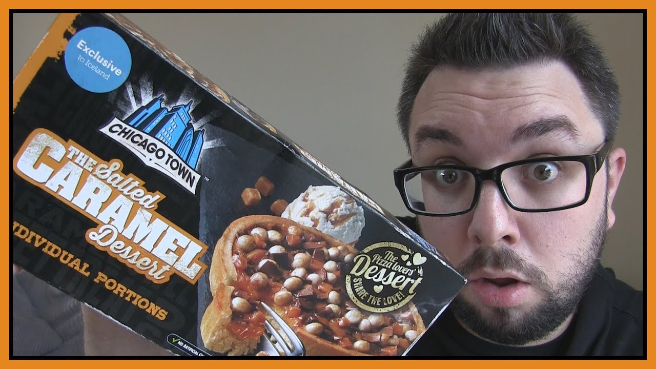 Chicago Town Salted Caramel Dessert Pizza Review