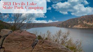 2021 Devils Lake Camṗing - Baraboo Wisconsin