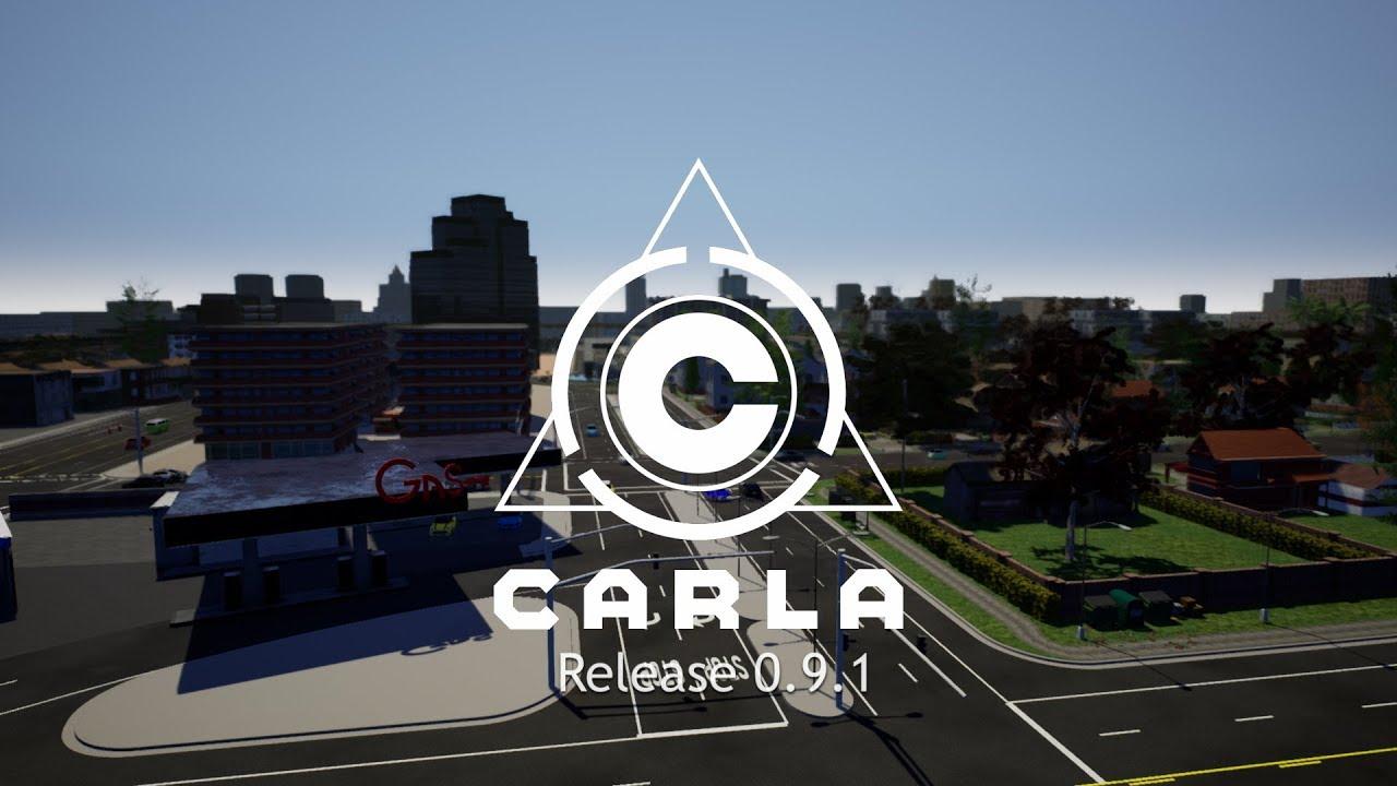 CARLA 0 9 1: Vehicle navigation, new waypoint-based API, maps