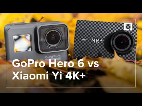 GOPRO Hero 6 Black kontra XIAOMI Yi 4K+ - co wybrać?
