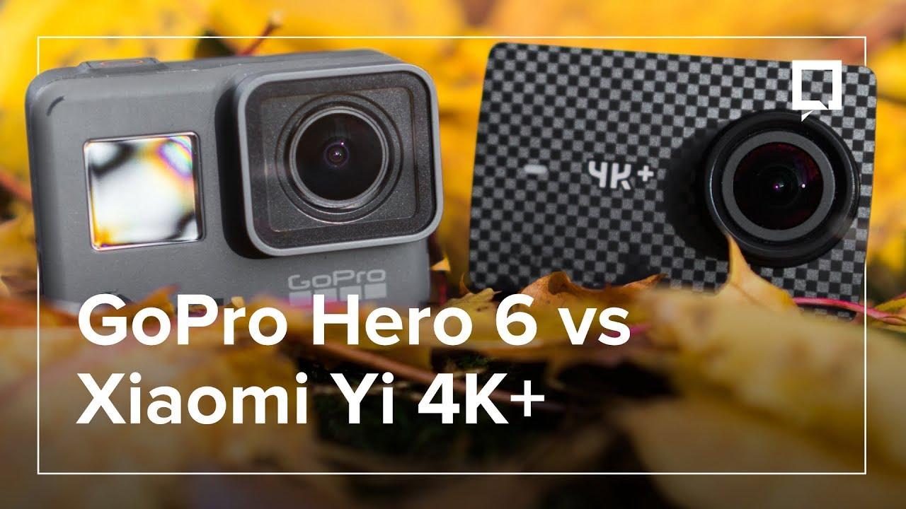 GOPRO Hero 6 Black kontra XIAOMI Yi 4K+ – co wybrać?