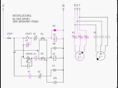 wiring diagram relay symbol 2000 ford f250 starter interlocking - youtube