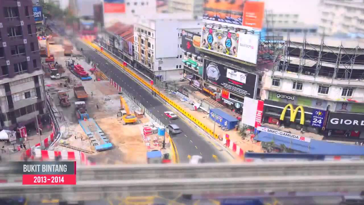 KVMRT SBK UNDERGROUND WORKS PACKAGE TIME LASPE VIDEO ( UNTIL OCT 2015 )