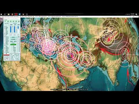 1/20/2018 -- Large M6.3 Earthquake strikes South America / Chile -- West Coast USA new watches