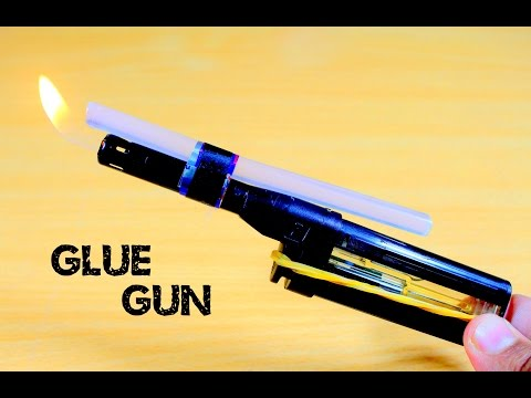 How To Make A Hot Glue Gun At Home