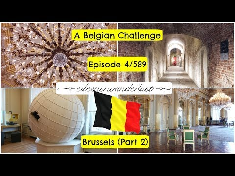 Visit Belgium -  4/589 – Brussels (part 2) -  The Royal Palace, Belvue Museum & Coudenberg