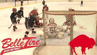 Kids HocKey - Buffalo Takes on Belle Tire AAA out of Detroit Michigan in Epic Battle