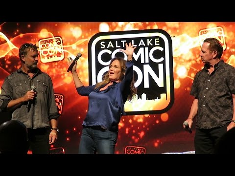 Dukes Of Hazard   John Schneider, Tom Wopat, Catherine Bach, Salt Lake Comic Con 2016