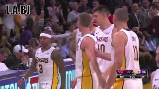 LeBron James and Isaiah Thomas fighting each other AGAIN ! L.Ab.J vs L.A.BJ