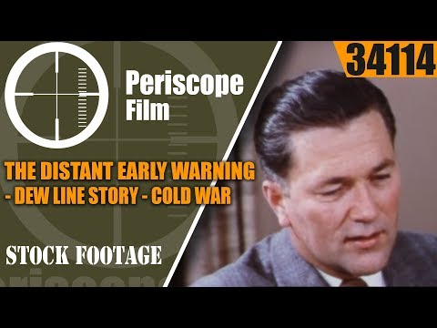 THE DISTANT EARLY WARNING  DEW LINE STORY   COLD WAR ARCTIC DEFENSE SYSTEM  34114