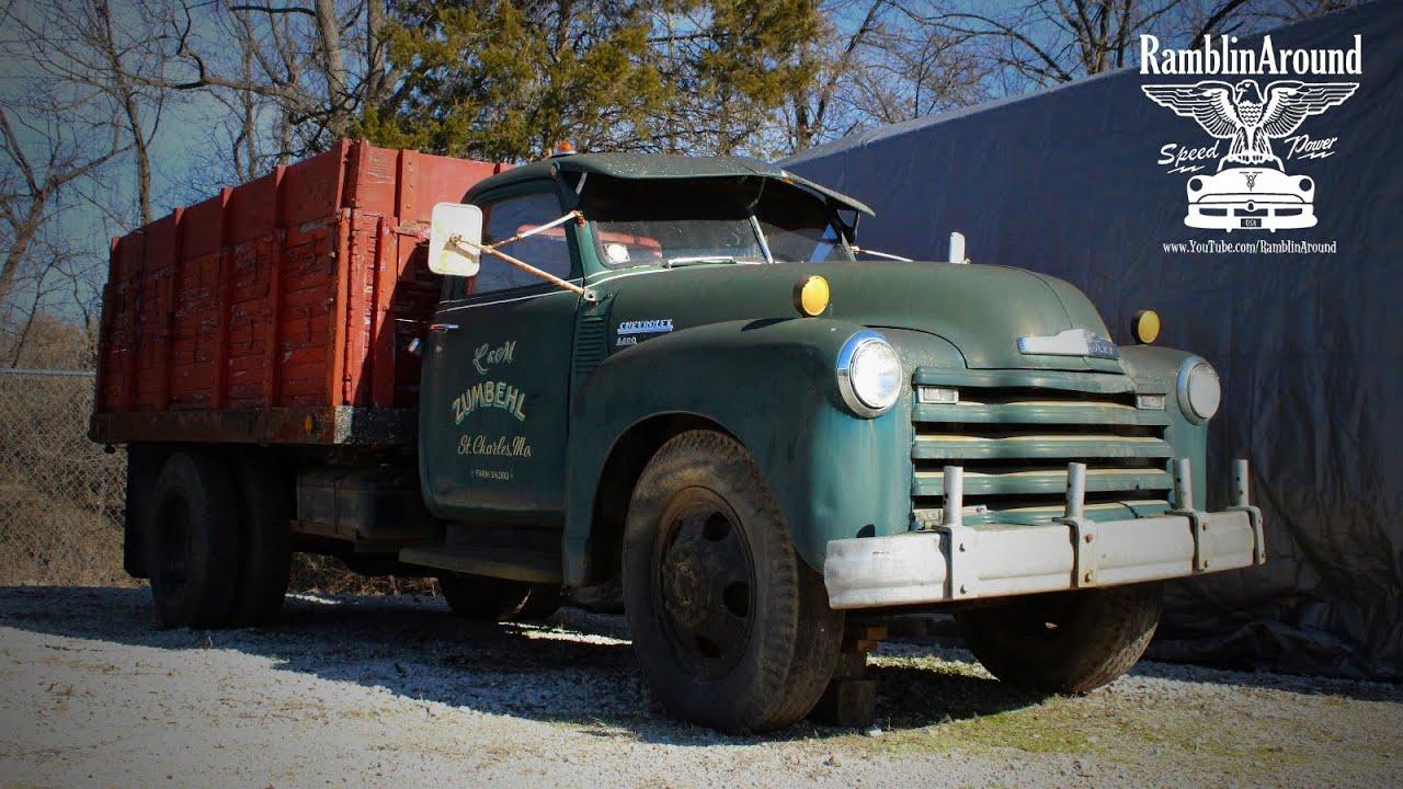 Chevrolet 6400 Farm Truck At Manns Restoration Youtube 1948 Ford Grain