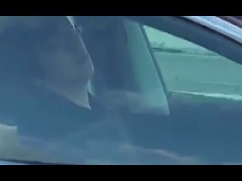 Brooke Morrison - Tesla Driver Asleep At The Wheel On The Freeway! (VIDEO)