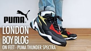On Feet - Puma Thunder Spectra - YouTube