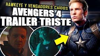 ¡¿QUÉ PASARÁ DESPUÉS?! Lo que NO viste en el trailer de Avengers 4 Endgame y Easter Eggs   Análisis