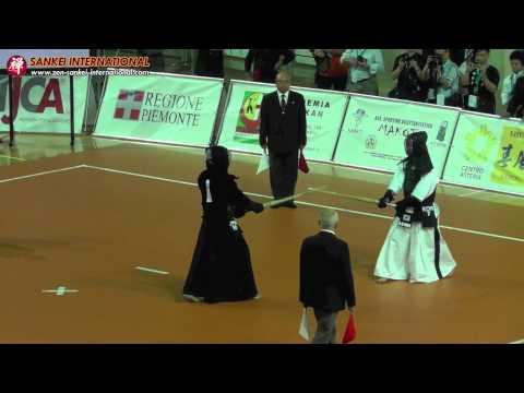Kendo「剣道」- 15th WKC Men Individual (JPN 10 - K.Furukawa vs KOR 7 - B.Park) [VID:20120525018]