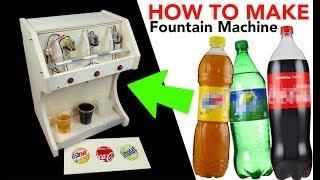 Distributore bibite Fai da te ( How to Make Coca cola Fountain Machine )