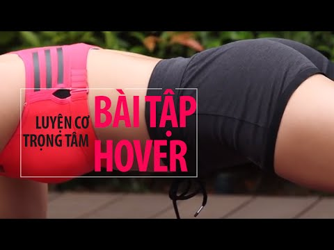 [HIIT SERIES] Ngày 6 - Cơ Trọng Tâm Với Bài Tập Hover / Planking   Hana Giang Anh   Workout #46