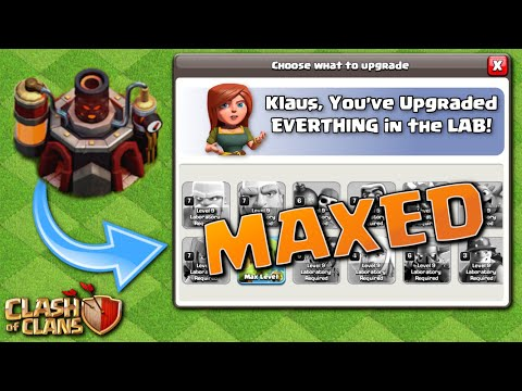 MAX LAB!  TH10 Let's Play 2nd FINALE!  Clash Of Clans