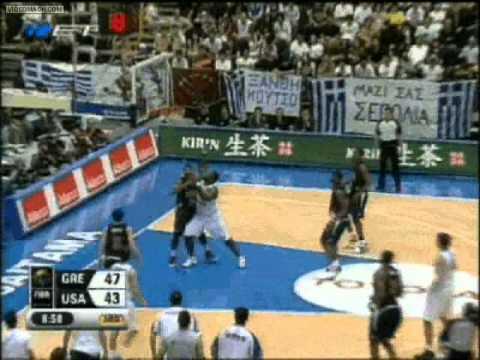 GREECE vs USA 101-95 World Championship 01/09/2006
