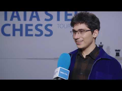 Alireza Firouzja - Post Round 8 Interview