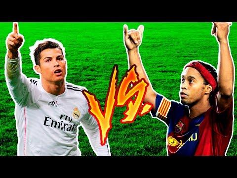 Cristiano Ronaldo VS Ronaldinho Gaúcho ● A Batalha Dos Ronaldos ● HD thumbnail