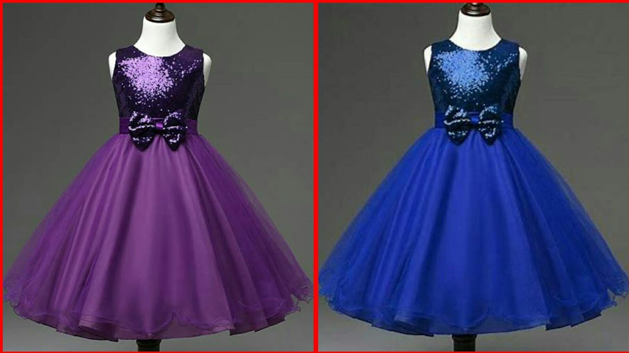 02707e39fb26 Latest Baby Gown Dresses Buy Online//kids Princess Style Frocks//Kids Party  Wear Dress Collection