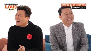 English Sub - PSY X JYP  Loud 10 minutes interview teaser
