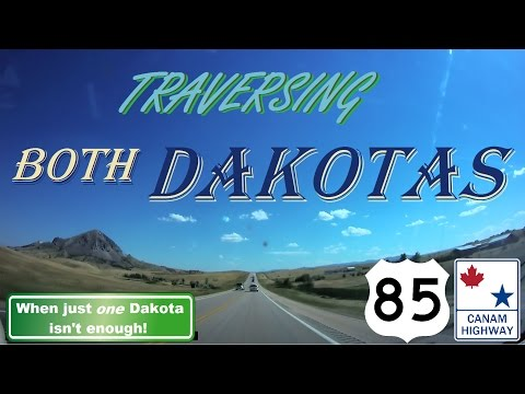 Time Lapse: Regina, Saskatchewan to Rapid City, South Dakota, via the CanAm Highway