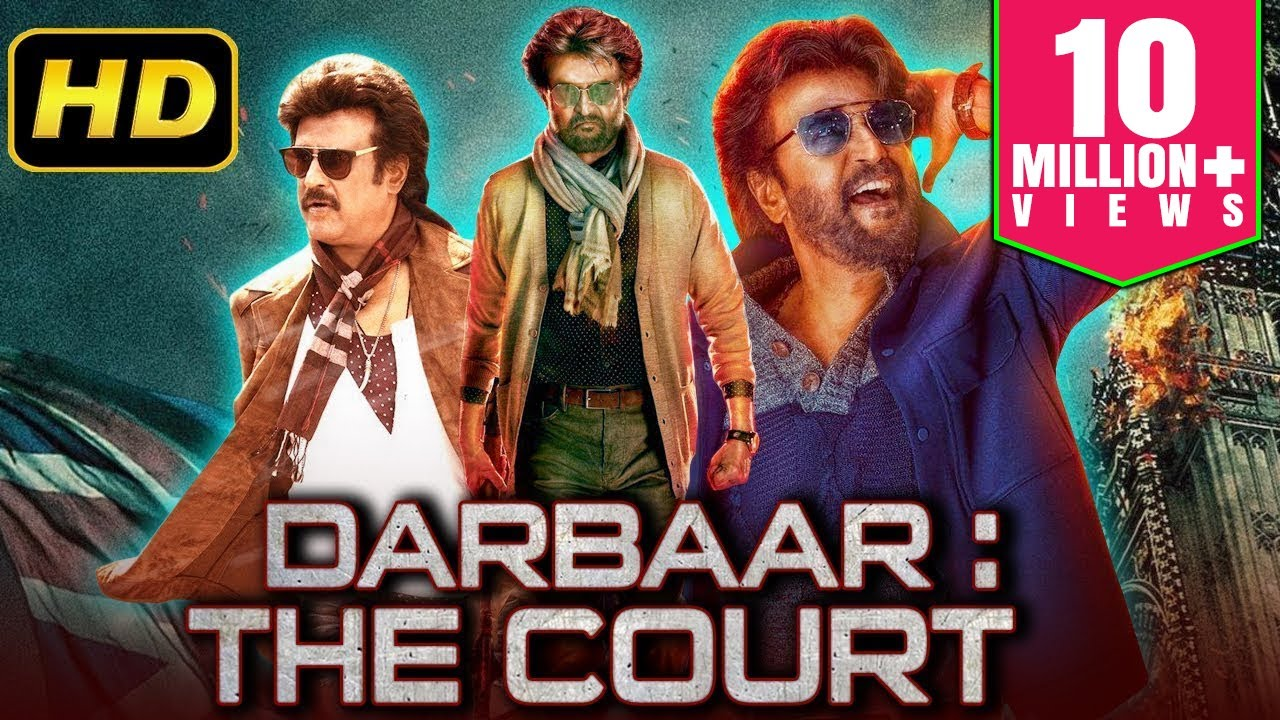 Download Darbar: The Court (2019) Tamil Hindi Dubbed Full Movie | Rajinikanth, Shriya Saran