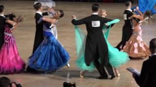 2016 Ohio Star Ball - Andrei Begunov & Anna Demidova - Pro Ballroom Quarterfinal - 4K