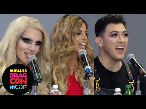 Jeffree Star, Manny MUA & Laura Lee: Beauty Bloggers Tell All at RuPaul's DragCon NYC 2017