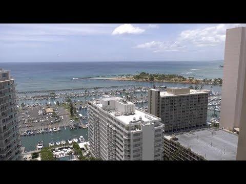 Hurricane Lane Honolulu Hawaii Skyline Cam