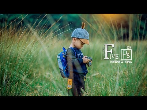 Photoshop Tutorial How to edit Outdoor Photography Beautiful Color Correction with Camera Raw Filter thumbnail