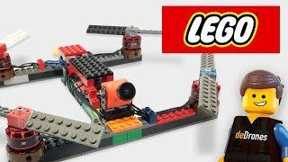 EL DRONE DE LEGO   ¿SOBREVIVIRÁ?