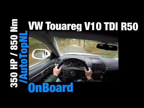 POV: VW Touareg 5.0 V10 TDI Acceleration R50 GREAT! OnBoard