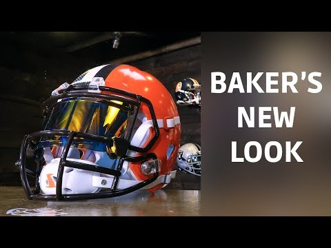 Baker Mayfield's One-Of-A-Kind Helmet
