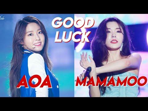 GOOD LUCK COMPARISON: AOA & MAMAMOO