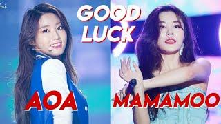 Download GOOD LUCK COMPARISON: AOA & MAMAMOO